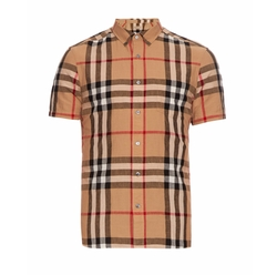 Burberry Brit - Short-Sleeved House-Check Shirt