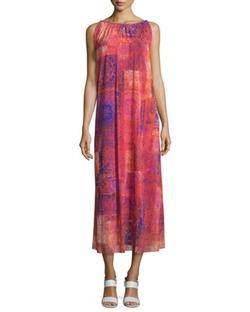 Fuzzi - Caftan Body Easy Printed Long Dress