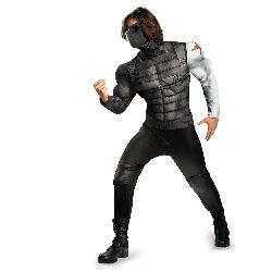 Marvel - Marvel Captain America Winter Soldier Classic Muscle Boys Costume