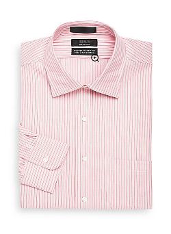 Saks Fifth Avenue Black - Multi-Stripe Dress Shirt