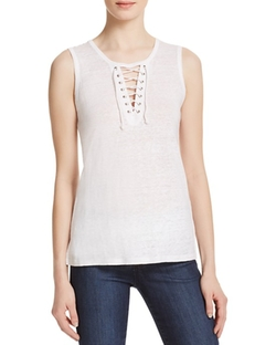 Generation Love  - Leah Lace-Up Tank Top