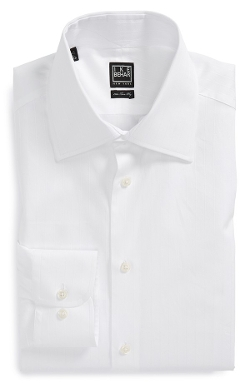 Ike Behar  - Classic Fit Solid Dress Shirt