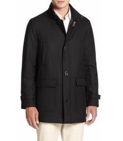 Salvatore Ferragamo - Wool Car Coat