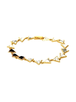 House of Harlow 1960 Jewelry - Meteora Tennis Bracelet