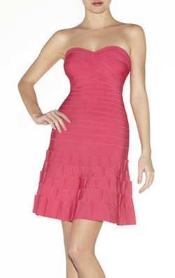 Herve Leger - Arlene Novelty Essentials Dress