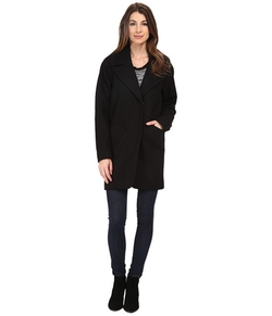 Marc New York by Andrew Marc  - Wendy Wool Melton Single Breasted Coat