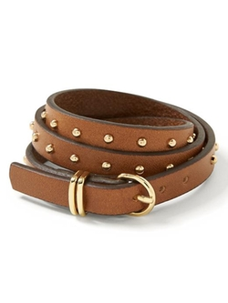 Banana Republic - Triple-Wrap Leather Bracelet
