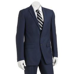 VAN HUESEN - Studio Modern-Fit Navy Suit Jacket