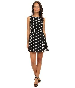 Gabriella Rocha  - Polka Dot Skater Dress