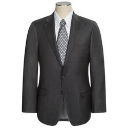 Hickey Freeman - Solid Worsted Wool Suit