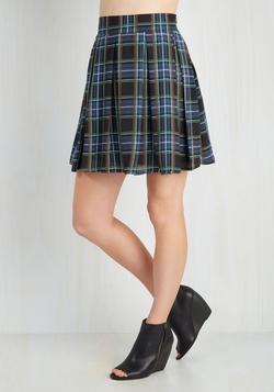 Mod Cloth - Park Movie Marathon Skirt