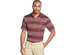 Greg Norman for Tasso Elba  - Multi Stripe Polo Shirt