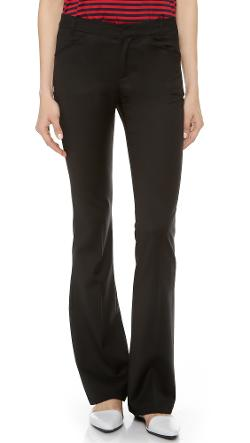 Band of Outsiders  - Flare Dress Pants