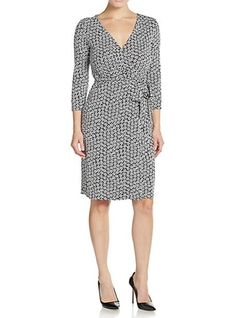 Diane Von Furstenberg  - Julian Silk-Jersey Wrap Dress