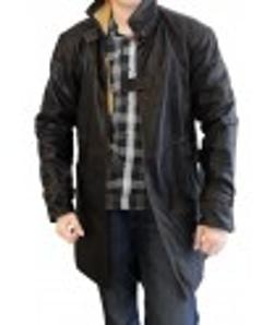 Desert Leather  - Aiden Pearce Watch Dogs Jacket Coat