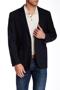 Ibiza  - Woven Two Button Notch Lapel Suit Jacket