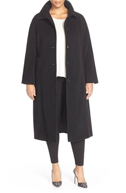 Ellen Tracy - Long Wool Blend Coat