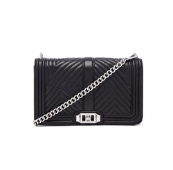 Rebecca Minkoff  - Geo Quilted Love Crossbody Bag