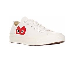 Comme Des Garçons Play  - 1970s Low Top Sneakers