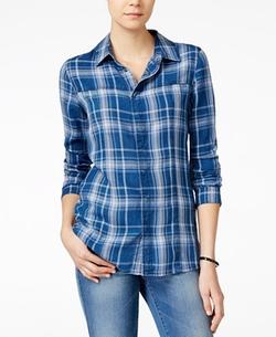 Hudson Jeans - Britt Plaid Button-Down Shirt