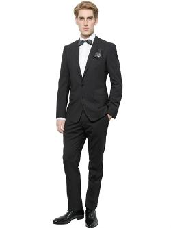 Dolce & Gabbana  - Stretch Wool Gold Fit Suit