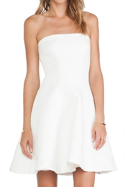 Alexis - Strapless Dress