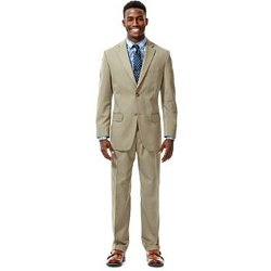 Haggar - Classic-Fit Herringbone Suit