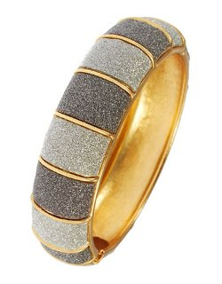 A.B.S. By Allen Schwartz  - Glitter Bangle Bracelet