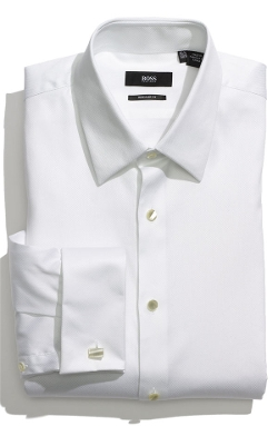 Boss - US Regular Fit Tuxedo Shirt