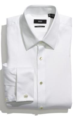 Boss - US Regular Fit Tuxedo Shirt
