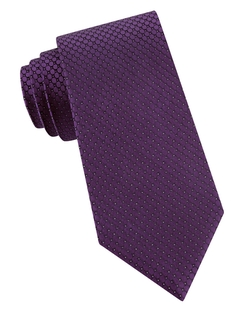 Calvin Klein - Patterned Silk Tie
