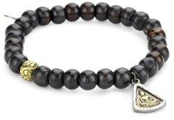 M.Cohen Handmade Designs  - Brass Buddha Charm Bracelet