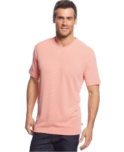 Tommy Bahama  - Pebble Shore V-Neck T-Shirt