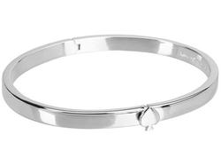 Kate Spade New York Spade  - Thin Hinge Bangle Bracelet