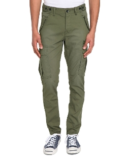 Selected - Slim Fit Khaki Naples Cargo Pants