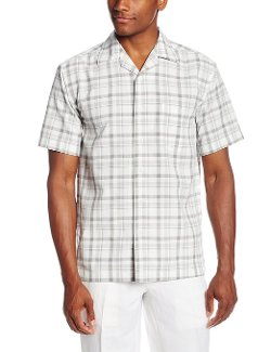 Haggar  - Short Sleeve Plaid Shirt