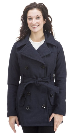 Dollhouse - Classic Wool Blend Trench Coat