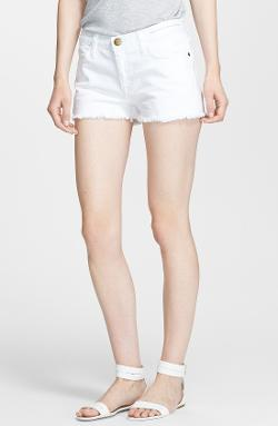 Current/Elliott  - The Cutoff Neon Denim Shorts