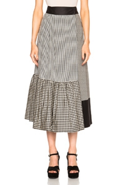 Isa Arfen - Asymmetric Wrap Skirt