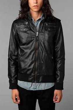 Urban Outfitters - Charles & 1/2 Moto Jacket