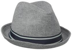 Ben Sherman - Cotton Chambray Trilby Fedora Hat