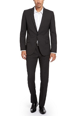 Boss Hugo Boss - Stretch Virgin Wool Suit
