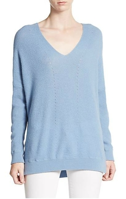 Vince  - Ribbed Cashmere Sweater