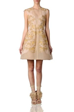 Alberta Ferretti - Gold Dress