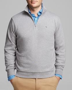 Vineyard Vines - Jersey Quarter Zip Pullover Sweater