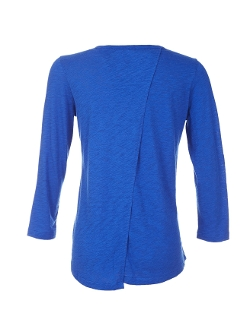 Scoop - Three Quarter Sleeve Top