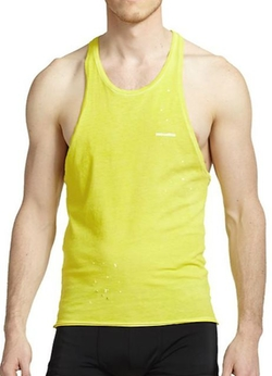 Dsquared2 - Ink Splatter Tank Shirt
