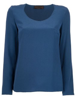 Jo No Fui  - Scoop Neck Blouse