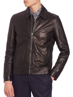 Kent and Curwen  - Leather Jacket
