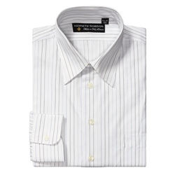 Kenneth Gordon  - Stripe Dress Shirt